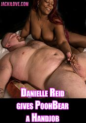 Straight Adult Movie Danielle Reid Gives PoohBear A Handjob