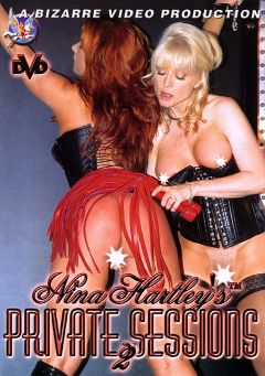 "Adult entertainment movie ""Nina Hartley's Private Sessions 2"" starring Kylie Ireland, Nina Hartley & Amber Michaels. Produced by Bizarre Video Productions."