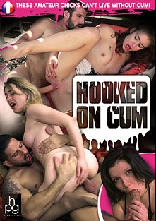 Hooked On Cum, starring Perle, Lola (II), Emilie, Franck and Rick, produced by HPG Production.