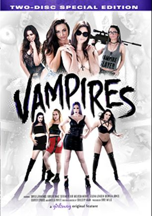 Vampires, starring Melissa Moore, Serena Blair, Carter Cruise, Abigail Mac, Shyla Jennings, Georgia Jones, Angela White and Jelena Jensen, produced by Girlsway.