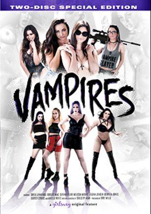 Vampires, starring Melissa Moore, Serena Blair, Carter Cruise, Abigail Mac, Shyla Jennings, Georgia Jones, Angela White and Jelena Jensen, produced by Girlsway.