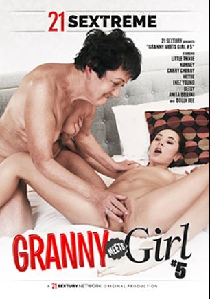 Granny Meets Girl 5, starring Little Trixie, Carry Cherry, Anita Bellini, Hettie, Nanney, Dolly Bee, Inez Young and Betsy, produced by 21 Sextreme.