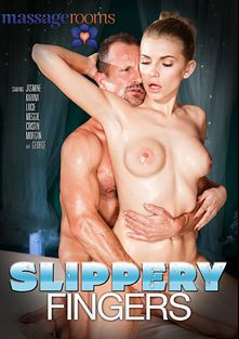 Slippery Fingers, starring Karina Grand, Lucie Dicas, Meggie Loki, Ornella Morgan, Cristal Caitlin, Jasmine Jae and George Uhl, produced by Massage Rooms.