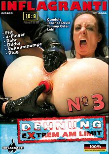 Dehnung Extrem Am Limit 3, starring Gundula, Taranee Devil, Loki and Tommy Oster, produced by Inflagranti Film Berlin.