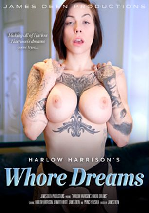 Harlow Harrison's Whore Dreams, starring Harlow Harrison, Jennifer White, Prince Yahshua and James Deen, produced by James Deen Productions and Girlfriends Films.