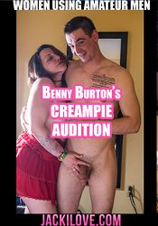 Straight Adult Movie Benny Burton's Creampie Audition