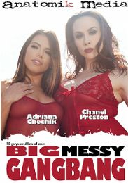 """Just Added presents the adult entertainment movie """"Big Messy Gangbang""""."""