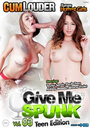 Straight Adult Movie Give Me Spunk 3: Teen Edition - front box cover