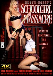 "Just Added presents the adult entertainment movie ""Brett Rossi's Schoolgirl Massacre""."