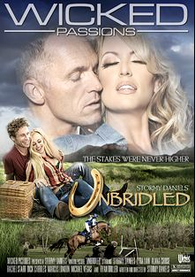 Unbridled, starring Stormy Daniels, Alana Cruise, Lyra Louvel, Michael Vegas, Ryan Driller, Dick Chibbles, Rachel Starr and Marcus London, produced by Wicked Pictures.