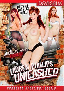 Lauren Phillips Unleashed, starring Lauren Phillips, Tee Reel, Mr. Pete and Evan Stone, produced by Devils Film and Devil's Film.