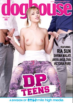 DP Teens, starring Ria Sunn, Micky Bolt, Anya Akulova, Shrima Malati, Jace Reed, Amy Pink, Ennio Guardi, Steve Q. and George Uhl, produced by Mile High Media and Doghouse Digital.