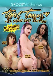 """Just Added presents the adult entertainment movie """"TGirl Teasers 4: TEA Show 2017 Edition""""."""