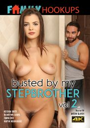 """Just Added presents the adult entertainment movie """"Busted By My Stepbrother 2""""."""