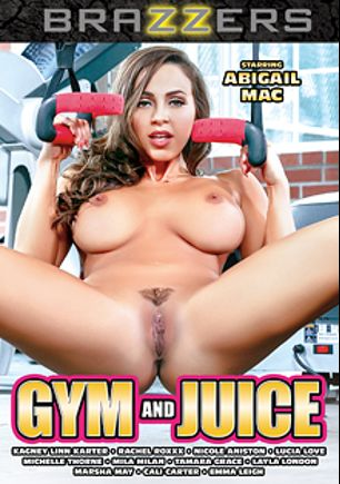 Gym And Juice, starring Abigail Mac, Layla London, Mila Milan, Marsha May, Emma Leigh, Lucia Love, Cali Carter, Tamara Grace, Nicole Aniston, Kagney Linn Karter, Rachel Roxx and Michelle Thorne, produced by Brazzers.