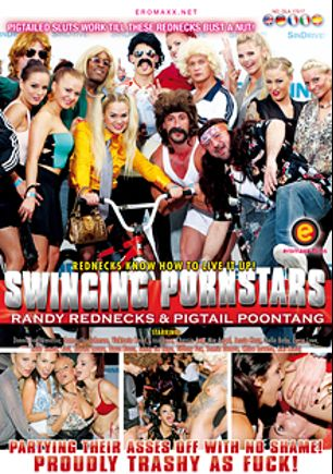 Swinging Pornstars: Randy Rednecks And Pigtail Poontang, starring Vicktoria Redd, Lucia Love, Samantha Johnson, Lissa Love, Chessie Kay, Jessie Hazz, Donna Joe, Bella Baby, Mia Angel, Vanessa Hell, Chloe Lovette, Jenny De Lugo, Kiki Minaj, Kari Milla, Barra Brass, Klarisa Leone, Samia Duarte, Leila Smith and Tiffany Fox, produced by Eromaxx.
