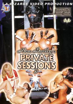 "Adult entertainment movie ""Nina Hartley's Private Sessions 3"" starring Kylie Ireland, Dru Berrymore & Nina Hartley. Produced by Bizarre Video Productions."