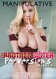 """Featured Studio - Manipulative Media presents the adult entertainment movie """"Step Brother Sister Perversions 9""""."""