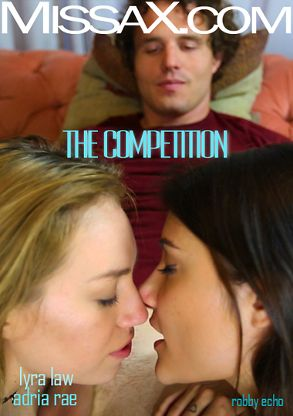 Straight Adult Movie The Competition - back box cover