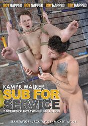 Gay Adult Movie Kamyk Walker: Sub For Service