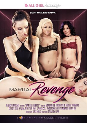 Straight Adult Movie Marital Revenge - front box cover