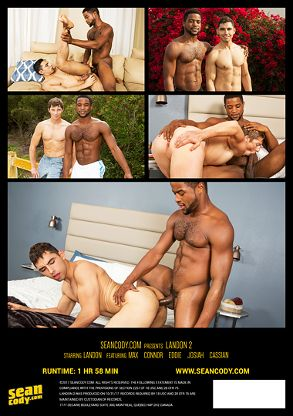 Gay Adult Movie Landon 2 - back box cover