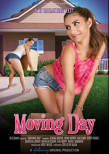 Moving Day, starring Nina North, Jenna Sativa, Natalia Starr, Kat Dior, Brett Rossi, Eva Notty, Georgia Jones and India Summer, produced by Girlsway.