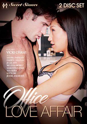 Office Love Affair, starring Vicki Chase, Jessie Andrews, Darryl Hannan, Asa Akira, Satine Phoenix, Samantha Ryan, Katsuni, Melissa Monet and Julia Ann, produced by Sweet Sinner and Mile High Media.