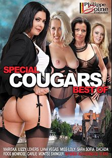 Special Cougars Best Of, starring Carlie Gap, Roos Monroe, Mariska X, DaCada, Miss Loly, Sara Sofia, Lizzy Lovers, Lana Vegas, Montse Swinger, Tom Cruiso, Alex Black and Phillippe Soine, produced by Marc Dorcel SBO and Marc Dorcel.