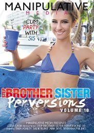 """Featured Studio - Manipulative Media presents the adult entertainment movie """"Step Brother Sister Perversions 10""""."""