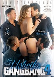 "Just Added presents the adult entertainment movie ""My Hotwife's Gangbang 4""."
