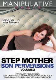 """Featured Studio - Manipulative Media presents the adult entertainment movie """"Step Mother Son Perversions 2""""."""