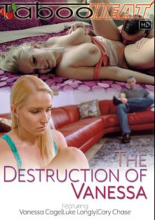 Vanessa Cage In The Destruction Of Vanessa, starring Vanessa Cage, Luke Longly and Cory Chase, produced by Taboo Heat.