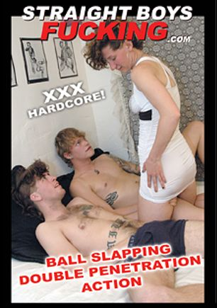 Ball Slapping Double Penetration Action, starring Kieron, Troy and Simone, produced by Straight Boys Fucking.