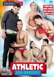 Gay Adult Movie Athletic Ass-Bangers