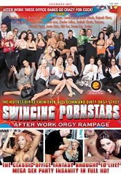 Straight Adult Movie Swinging Pornstars: After Work Orgy Rampage