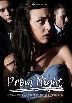Straight Adult Movie Prom Night - front box cover