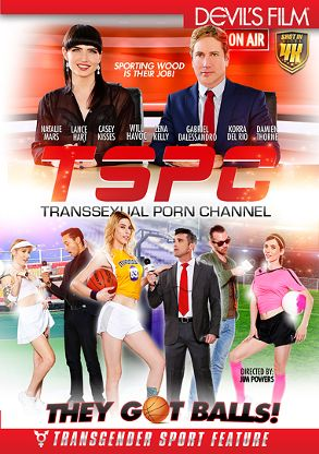Straight Adult Movie TSPC Transsexual Porn Channel - front box cover