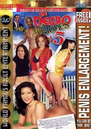 """Just Added presents the adult entertainment movie """"The Negro in Mrs. Jones 5""""."""