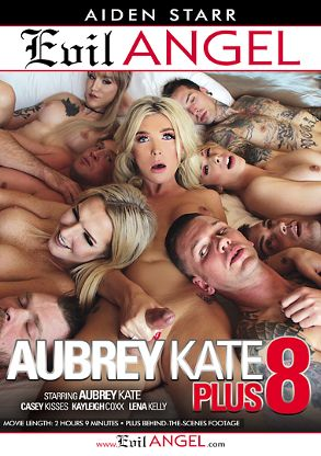 Straight Adult Movie Aubrey Kate Plus 8 - front box cover