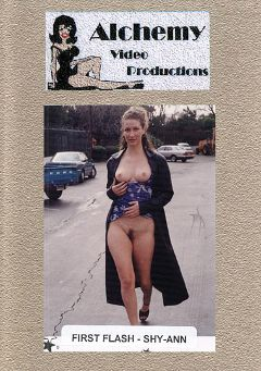 "Adult entertainment movie ""First Flash - Shy-Ann"" starring Shy Ann. Produced by Alchemy Video Productions."