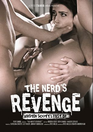 The Nerd's Revenge, starring Kristen Scott, Johnny Goodluck, Carolina Sweets, Lily Rader, Xander Corvus and Seth Gamble, produced by Pure Taboo.