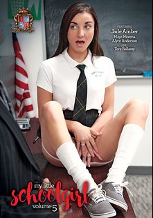 My Little Schoolgirl 5, starring Jade Amber, Tory Bellamy, Alyce Anderson and Maya Morena, produced by Innocent High.