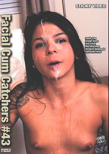 Facial Cum Catchers 43, starring Mia Martinez, Victoria Stephanie, Troy McNut, Zoe Clark, Brad Sterling, Sadie Pop, Jarushka Ross, Lacy Channing and Aaron Wilcox, produced by Sticky Video.