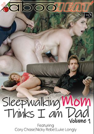 Cory Chase In Sleepwalking Mom Thinks I Am Dad, starring Cory Chase, Nicky Rebel and Luke Longly, produced by Taboo Heat.