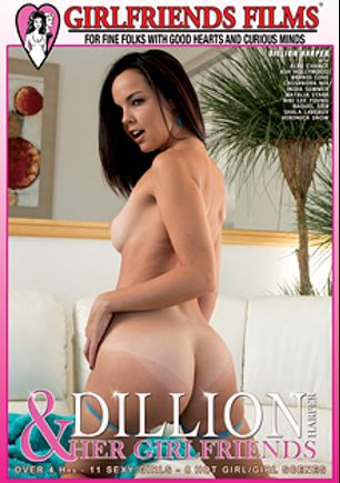 Dillion Harper And Her Girlfriends, starring Dillion Harper, Alex Chance, Cassandra Nix, Ash Hollywood, Raquel Sieb, Brandi Love, India Summer, Veronica Snow, Nikki Lee Young and Shayla Laveaux, produced by Girlfriends Films.