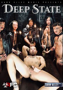 Deep State, starring Asher Devin, Seth Knight, Roman Maverick, Zach Covington, Aiden Hart, Cris Knight, Jack Andy, Nicko Wilde, Champ Robinson and Jake Morgan, produced by Raw Fuck Club and Dark Alley Media.