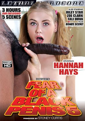 Straight Adult Movie Fear Of A Black Penis 5 - front box cover