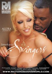 """Featured Category - Black Dicks / White Chicks presents the adult entertainment movie """"Interracial Swingers""""."""