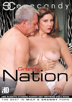 Straight Adult Movie Granny Nation - front box cover